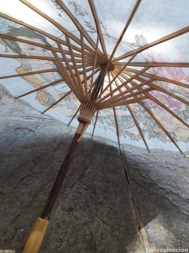 Paraguas Tamañ Chino Juguete Comprar En Sombrilla Papel De 35T1uFKJcl