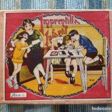 Juguetes antiguos y Juegos de colección: IMPRENTILLA INFANTIL SERIE A (INCOMPLETA) (AÑOS 30/40). Lote 162617946