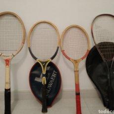 Juguetes antiguos y Juegos de colección: LOTES DE ANTIGUAS RAQUETAS. Lote 163325816