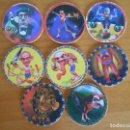 Juguetes antiguos y Juegos de colección: LOTE 8 TAZOS OFFICIAL GAME WEST - AÑO 1995 - CAPS - DIFERENTES (FU). Lote 164696334