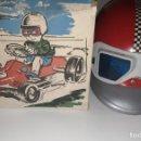 Juguetes antiguos y Juegos de colección: CASCO AÑOS 80 DEPORTIVO GRAN RALLYE NUEVO EN CAJA REFERENCIA 203. Lote 164981886