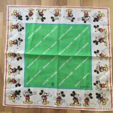 Juguetes antiguos y Juegos de colección: PAÑUELO MICKEY MOUSE. BALVI 1986 DISNEY. Lote 165226974