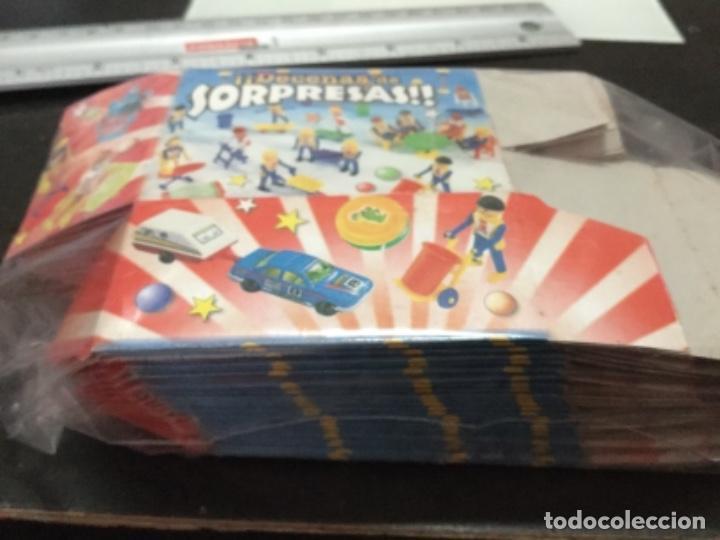 Juguetes antiguos y Juegos de colección: 100 Cajas sorpresa kiosco vacías ( leer descripción ) - Foto 4 - 165364590
