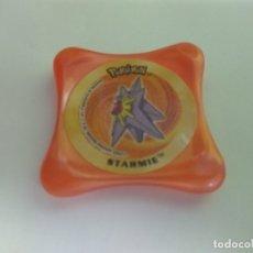 Juguetes antiguos y Juegos de colección: TAZO POKEMON -- NINTENDO 2003 -- WAPS -- STARMIE. Lote 166016142