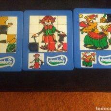 Juguetes antiguos y Juegos de colección: LOTE DE PUZZLES ROMPECABEZAS. Lote 166055792