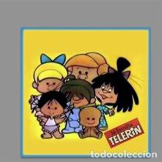 Juguetes antiguos y Juegos de colección: AZULEJO 15X15 DE LA FAMILIA TELERIN ¡¡VAMOS A LA CAMA!!. Lote 166571293