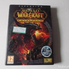 Juguetes antiguos y Juegos de colección: WORLD OF WARCRAFT, BLIZARD - PC/DVD ROM - EXPANSION CATACLYSM - WORLD OF WARCRAFT. Lote 166996424
