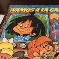 Juguetes antiguos y Juegos de colección: ANTIGUO PUZZLE LA FAMILIA TELERIN 1964 COMPLETO! NÚMERO 1. Lote 167142460