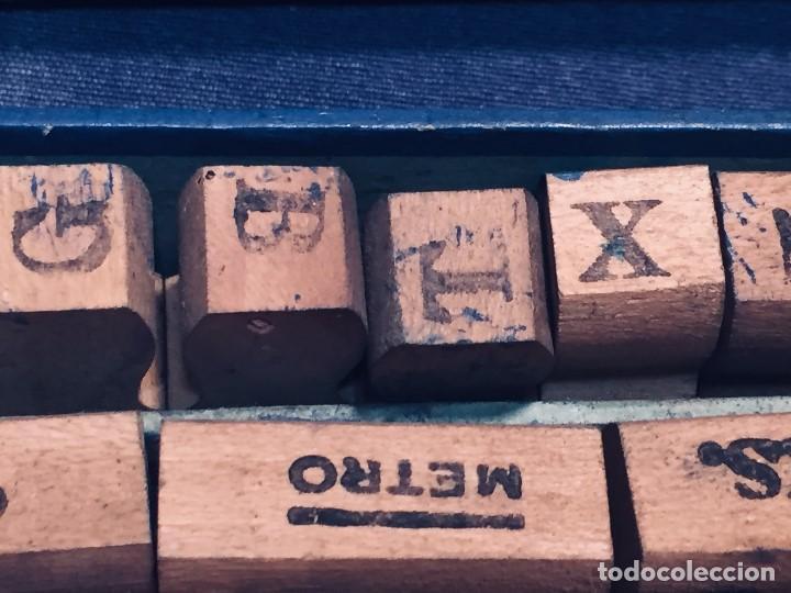 Juguetes antiguos y Juegos de colección: IMPRENTA INFANTIL IMPRENTILLA ROTULADORA IRIS VER FOTOS PPIO S XX 3,5X13,5X25,5CMS - Foto 7 - 169045728