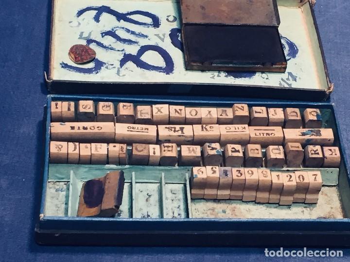 Juguetes antiguos y Juegos de colección: IMPRENTA INFANTIL IMPRENTILLA ROTULADORA IRIS VER FOTOS PPIO S XX 3,5X13,5X25,5CMS - Foto 20 - 169045728