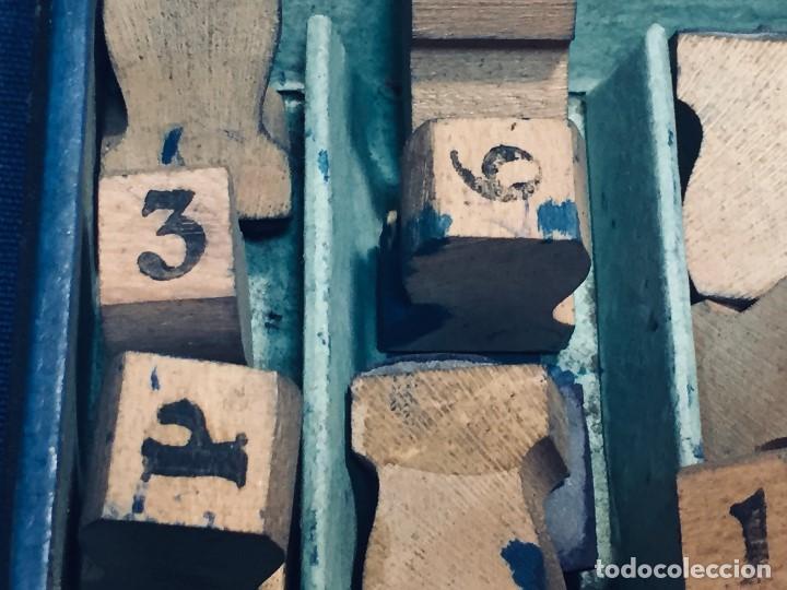 Juguetes antiguos y Juegos de colección: IMPRENTA INFANTIL IMPRENTILLA ROTULADORA IRIS VER FOTOS PPIO S XX 3,5X13,5X25,5CMS - Foto 27 - 169045728