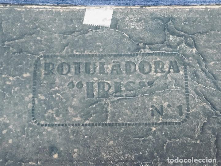Juguetes antiguos y Juegos de colección: IMPRENTA INFANTIL IMPRENTILLA ROTULADORA IRIS VER FOTOS PPIO S XX 3,5X13,5X25,5CMS - Foto 29 - 169045728