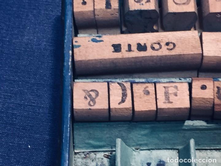 Juguetes antiguos y Juegos de colección: IMPRENTA INFANTIL IMPRENTILLA ROTULADORA IRIS VER FOTOS PPIO S XX 3,5X13,5X25,5CMS - Foto 38 - 169045728
