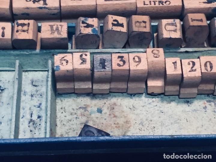 Juguetes antiguos y Juegos de colección: IMPRENTA INFANTIL IMPRENTILLA ROTULADORA IRIS VER FOTOS PPIO S XX 3,5X13,5X25,5CMS - Foto 37 - 169045728