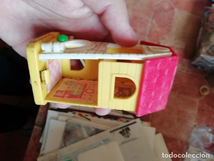 Juguetes antiguos y Juegos de colección: ANtiguo juguete juego mis casitas plastico en miniatura. - Foto 2 - 169328728