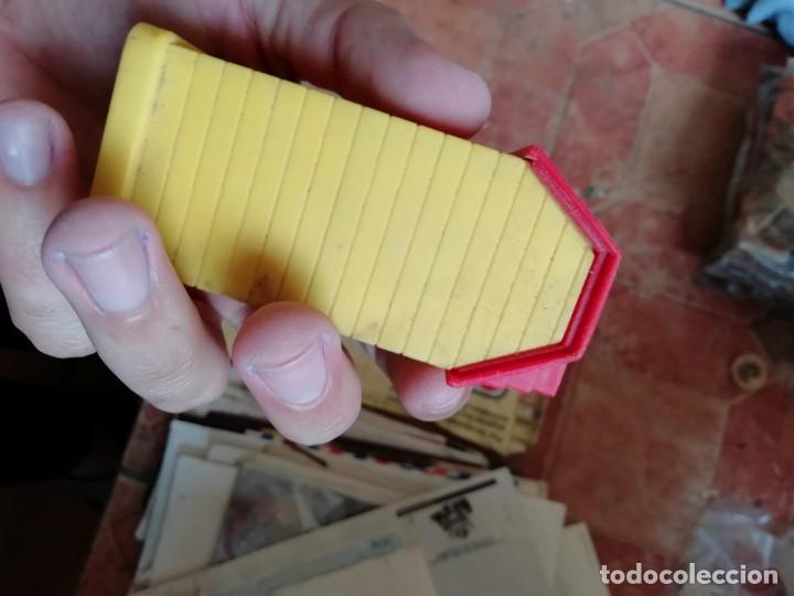 Juguetes antiguos y Juegos de colección: ANtiguo juguete juego mis casitas plastico en miniatura. - Foto 4 - 169328728
