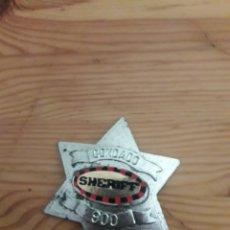 Juguetes antiguos y Juegos de colección: ESTRELLA PLACA SHERIFF CONDADO JUGUETE. Lote 169582478