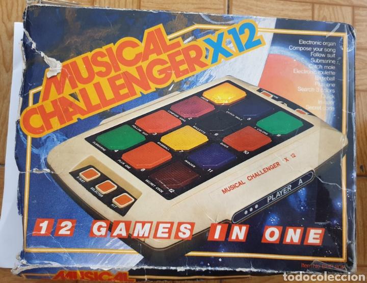 Juguetes antiguos y Juegos de colección: Juego electrónico Musical Chalenger x 12 - Foto 3 - 169731188