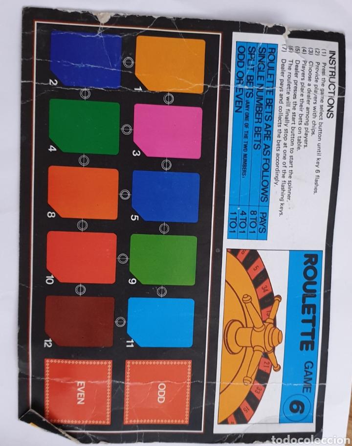 Juguetes antiguos y Juegos de colección: Juego electrónico Musical Chalenger x 12 - Foto 5 - 169731188