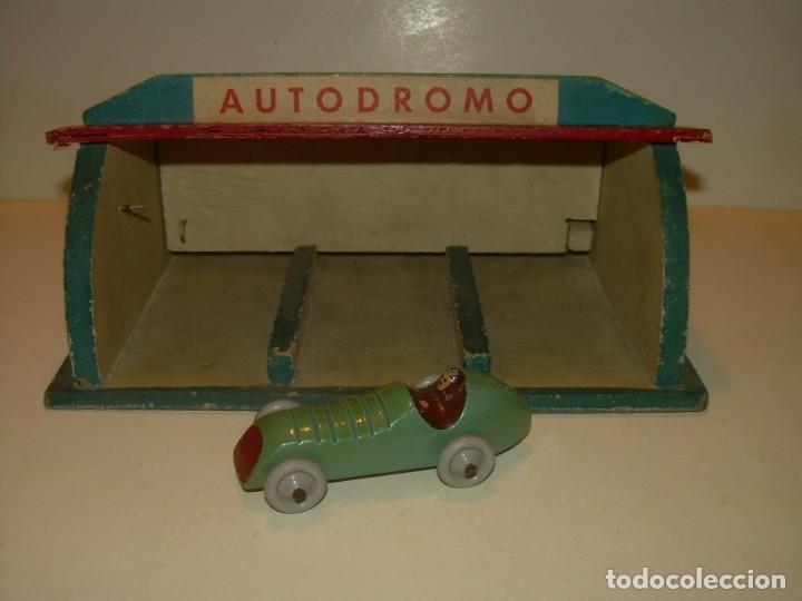 Juguete De Madera autodromo Antiguo Bonito Y 8XnwOkP0