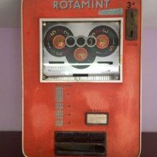 Juguetes antiguos y Juegos de colección: MÁQUINA RECREATIVA, TRAGAPERRAS ALEMANA ROTAMINT RECORD.RULETA(AÑOS 60). Lote 169780456