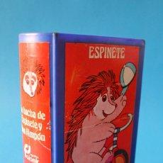 Juguetes antiguos y Juegos de colección: LIBRO HUCHA - LA HUCHA DE ESPINETE Y DON PIMPÓN - BARRIO SÉSAMO - JUGUETES FALOMIR 1986. Lote 169816968