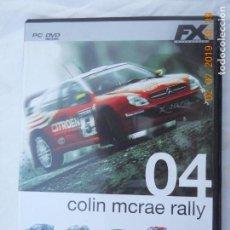 Juguetes antiguos y Juegos de colección: JUEGO COLIN MCRAE RALLY 04 - MC RAE 4 PC DVD FX. . Lote 170032952
