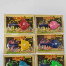 Juguetes antiguos y Juegos de colección: COLECCION COMPMETA / NAVES PETITJET / AÑOS 80 / PETIT SUISSE / DANONE. Lote 170181504