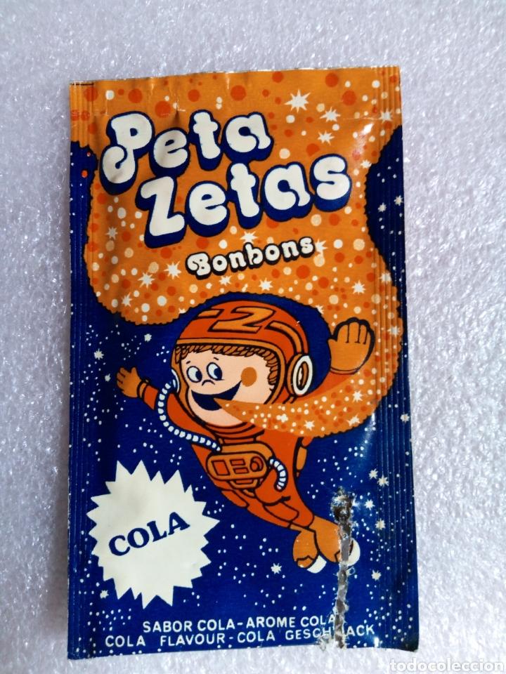 SOBRE PETA ZETAS - ZETA ESPACIAL, S. A. - SANT BOI ( BARCELONA ) - AÑOS 70/80 (Juguetes - Varios)