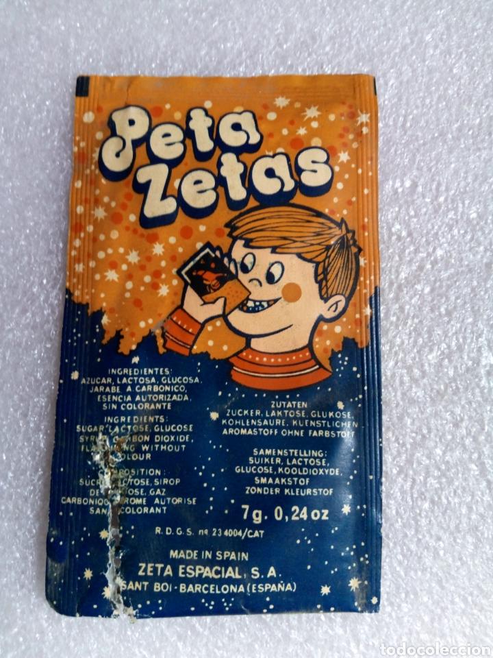 Juguetes antiguos y Juegos de colección: SOBRE PETA ZETAS - ZETA ESPACIAL, S. A. - SANT BOI ( BARCELONA ) - AÑOS 70/80 - Foto 3 - 170428460