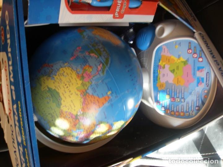 Juguetes antiguos y Juegos de colección: GLOBO INTERACTIVO CLEMENTONI EXPLORA EL MUNDO - Foto 5 - 170971943