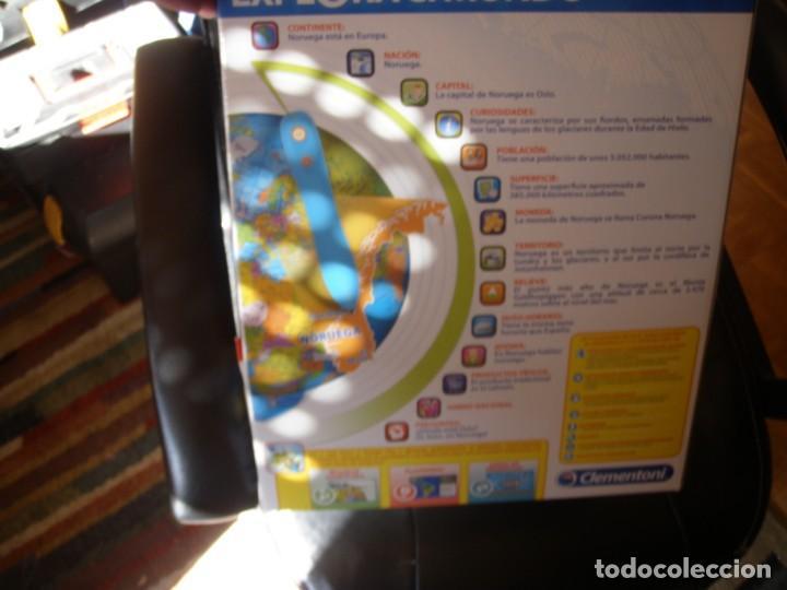 Juguetes antiguos y Juegos de colección: GLOBO INTERACTIVO CLEMENTONI EXPLORA EL MUNDO - Foto 7 - 170971943