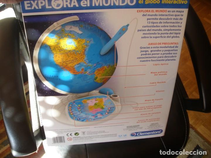 Juguetes antiguos y Juegos de colección: GLOBO INTERACTIVO CLEMENTONI EXPLORA EL MUNDO - Foto 8 - 170971943