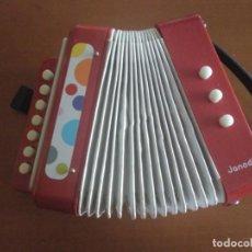 Juguetes antiguos y Juegos de colección: ACORDEON JANOD ** FUNCIONA CORRECTAMENTE. Lote 172007343