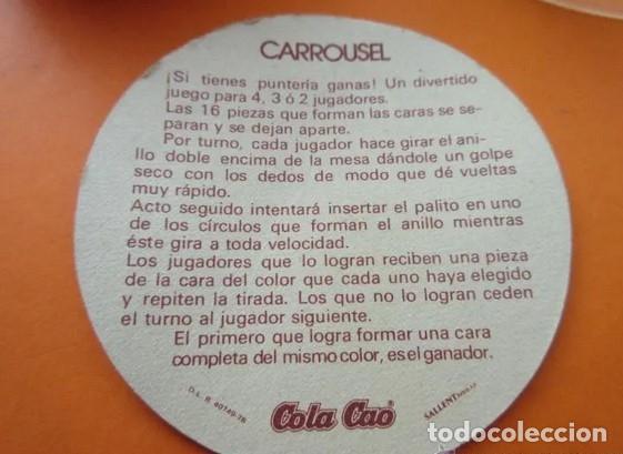 Juguetes antiguos y Juegos de colección: COLA CAO SUPER MINI JUEGOS CARROUSEL - 1978 PELIKAN - MIRA ETIQUETA HIPER (DE PRYCA) - Foto 3 - 172092653