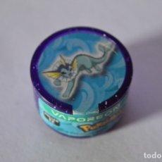 Juguetes antiguos y Juegos de colección: COLECCIÓN TAZOS MAGIC BOX INT. NINTENDO POKÉMON POWER ROLLERS TAZO CAPS ROLLER 12 VAPOREON 2006. Lote 278448313