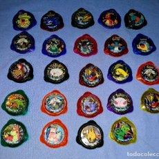 Juguetes antiguos y Juegos de colección: 24 KRAKS POKEMON PANINI EN MUY BUEN ESTADO. Lote 172712448
