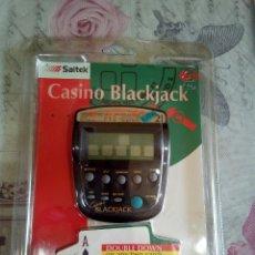 Juguetes antiguos y Juegos de colección: MAQUINA DE CASINO BLACKJACK EN BLÍSTER. Lote 172945288