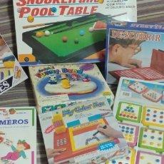 Jouets Anciens et Jeux de collection: LOTE DE 6 JUEGOS AÑOS 80/90 NUEVOS. Lote 173580290