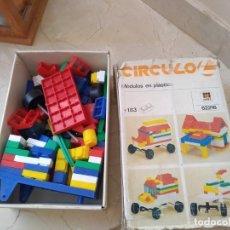 Juguetes antiguos y Juegos de colección: ANTIGUO JUEGO CONSTRUCCIÓN CIRCULO 2 DE DISET REF. 62216. Lote 173953943