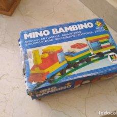 Juguetes antiguos y Juegos de colección: DISET REF. 213 MINI BAMBINO JUEGO DE CONSTRUCCIÓN. Lote 173954029