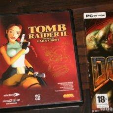 Juguetes antiguos y Juegos de colección: JUEGO PC TOMB RAIDER II Y DOOM3. Lote 174057437