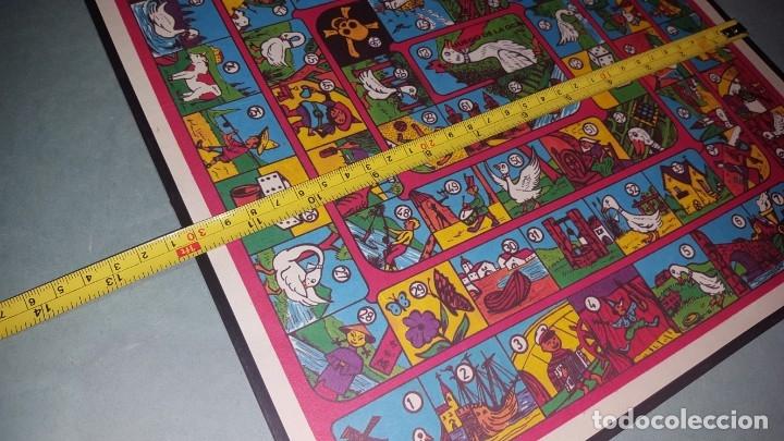 Juguetes antiguos y Juegos de colección: ANTIGUO JUEGO DE LA OCA - Foto 3 - 174083763