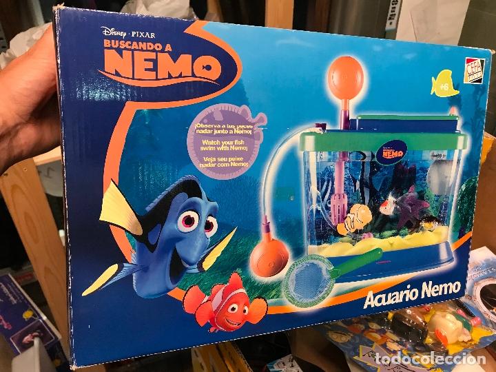 Juguetes antiguos y Juegos de colección: Acuario pecera de buscando a nemo de Cefa toys - Nueva sin uso - Foto 3 - 267500634