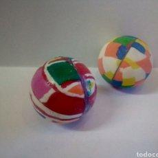 Juguetes antiguos y Juegos de colección: LOTE 2 PELOTAS SALTARINAS. Lote 175560688