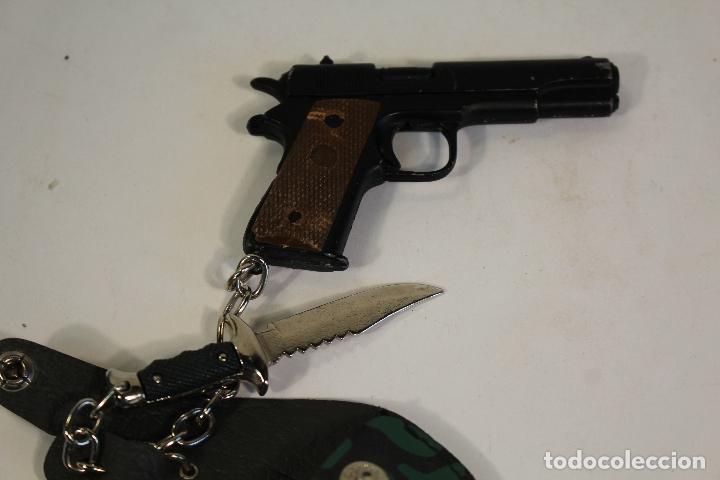 Juguetes antiguos y Juegos de colección: pistola - machete - mini - juguete - - Foto 3 - 175644695