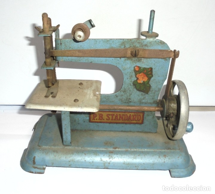 maquina de coser. juguete. p.b.standard. manual - Comprar