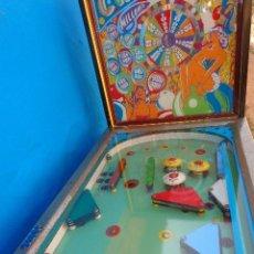Juguetes antiguos y Juegos de colección: MAQUINA PINBALL DE 1967-1968 AUTOMATICOS CMC DE ZARAGOZA MILLON, JUEGO DE BOLAS, BILLAR. Lote 177046629