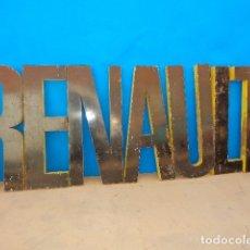 Juguetes antiguos y Juegos de colección: ROTULO DE RENAULT COCHES. Lote 177046885