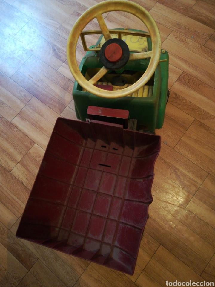 Juguetes antiguos y Juegos de colección: Camión BIG gateador para bebé. Años 70 Pegaso ? - Foto 4 - 217745891